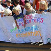 "Flatirons Elementary students hold a special sign they made for the firefighters.<br /> A special parade  for the Fourmile firefighters was held during the Boulder Green Streets celebration.<br /> For a video of the parade, go to  <a href=""http://www.dailycamera.com"">http://www.dailycamera.com</a>.<br /> Cliff Grassmick / September 19, 2010"