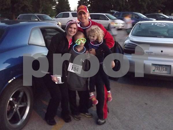 Stephanie, Matt, Jace, and Avrie Hanson.