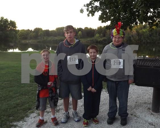 Logan Piper, Steven Piper, Gven piper, and Nathan Piper.