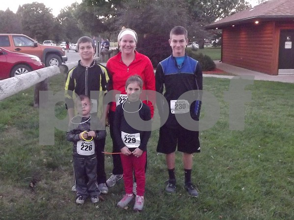 Left to right: Tyler, Brenda, Clayton, Brody, and Emma Reis.
