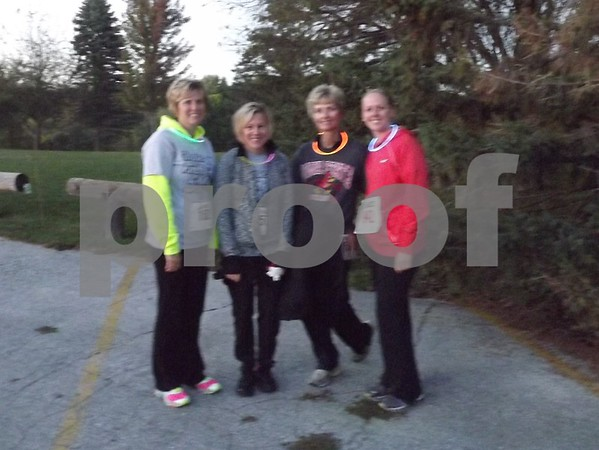 Left to right: Lisa Schwandt, Lyn and Janet Steincamp, and Lindsey Cavanaugh.