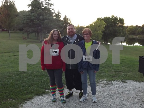 Angie Piper, Justin Piper, and Carole Messerly.