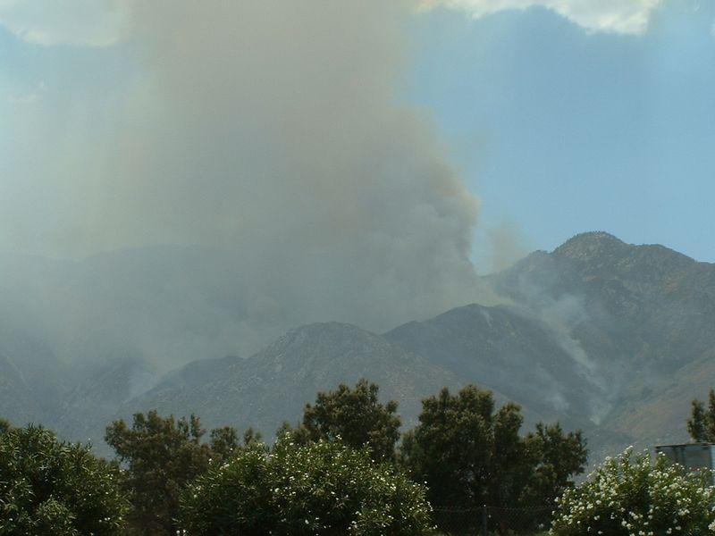 Verbenia Fire, 12 Jul 2004