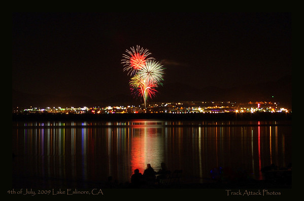 Lake Elsinore 4th of July Fireworks