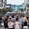 Tiffany Wolfe/NEWS<br /> East Washington Street is packed from sidewalk to sidewalk for Saturday's Fireworks Festival.