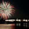 July 4th Fireworks-Washington, D.C. over Kennedy Center.