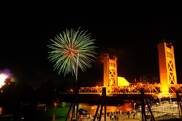 Fourth of July Fireworks and Night time fun 07-03-16
