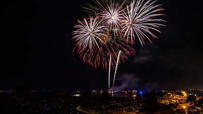 Fireworks Over The Matanzas