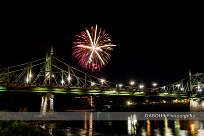 Fireworks Over the Delaware July 10, 2016