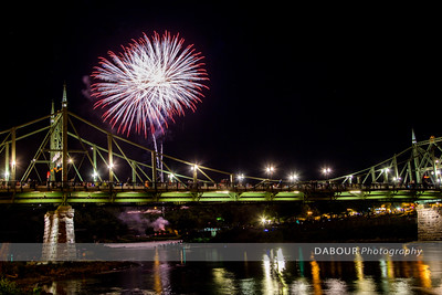 Fireworks Over the Delaware July 10, 2016