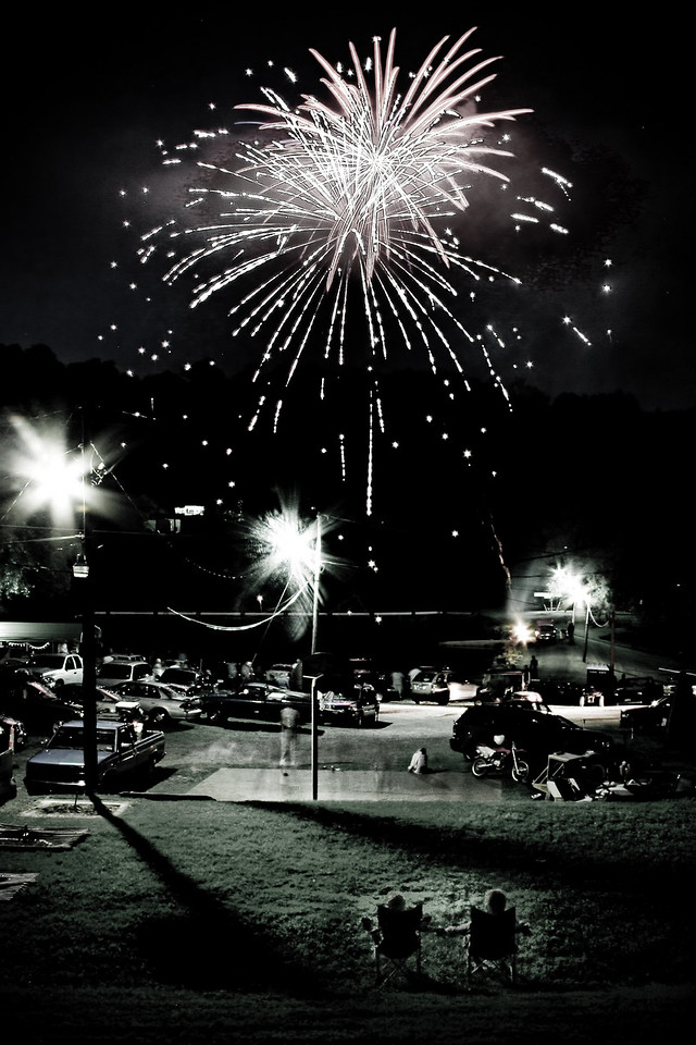 Fireworks at Pine Valley 2009