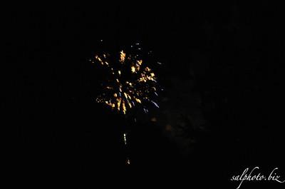 Fireworks at Prairie Pioneer Days 11' & 12' & 13' & 15'