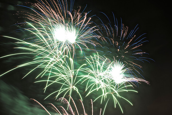 Fireworks from Sugarhouse Casino