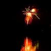 Fireworks at Dogwood Dell over Swan Lake 2011
