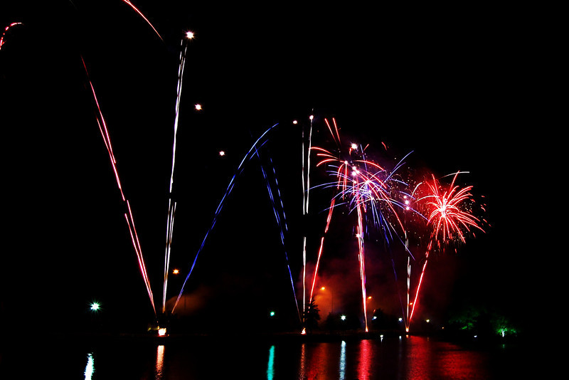 4th of July celebration at Bradley Fair in Wichita, KS