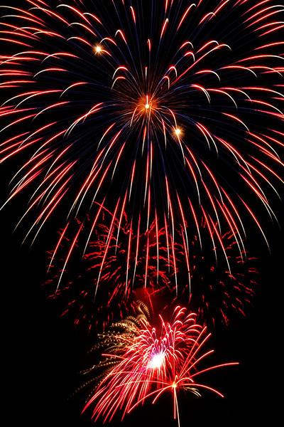 4th of July celebration at Bradley Fair in Wichita, KS