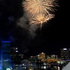 Fourth of July fireworks downtown at the Jacksonville Landing.  2014. Photos by John Shippee Photography