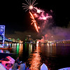 Summer time fireworks on the St Johns River at the Jacksonville Landing in Jacksonville, Florida.  Photos by John Shippee Photography