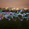 Some light painting fun with some kids at Skyfire