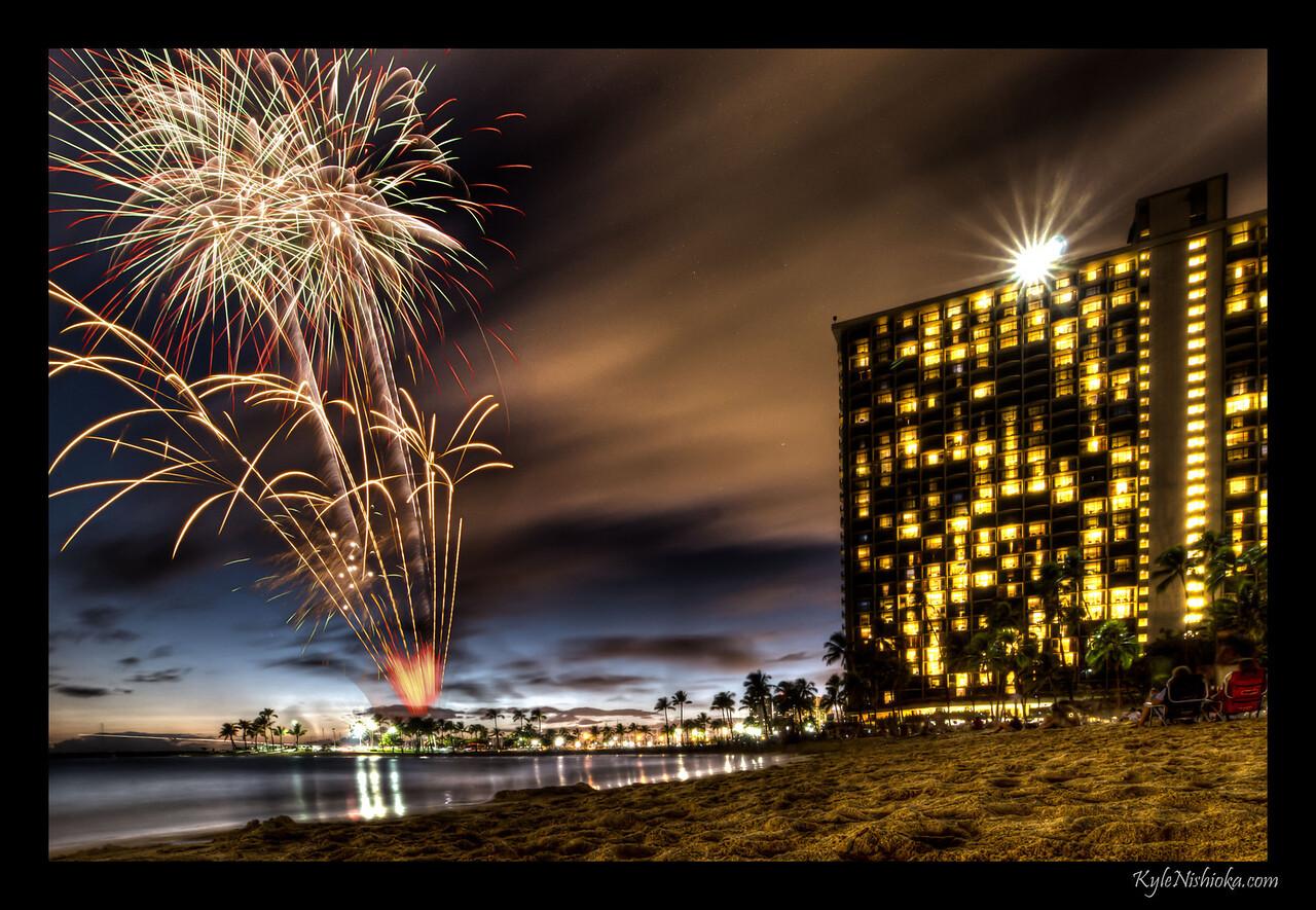 Hilton Fireworks