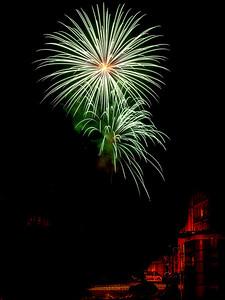 Fireworks 1. Photo: Martin Bager. Fireworks in Tivoli.  Photo: Martin Bager.
