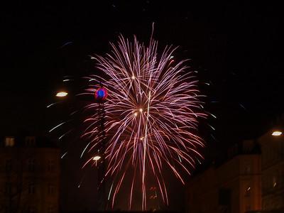 Fireworks 4. Photo: Martin Bager. Fireworks in Tivoli.  Photo: Martin Bager.