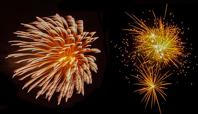 Fireworks 5. Photo: Martin Bager. Fireworks in Tivoli.  Photo: Martin Bager.