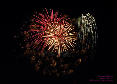 Fourth of July Fireworks, Needham, Massachusetts 2007