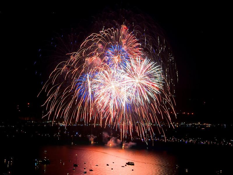 Lake Tahoe Fireworks 2012