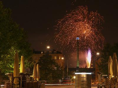Fireworks 9. Photo: Martin Bager. Fireworks in Tivoli.  Photo: Martin Bager.
