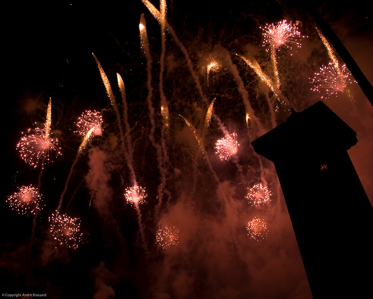 Fireworks at Disney's Epcot Centre