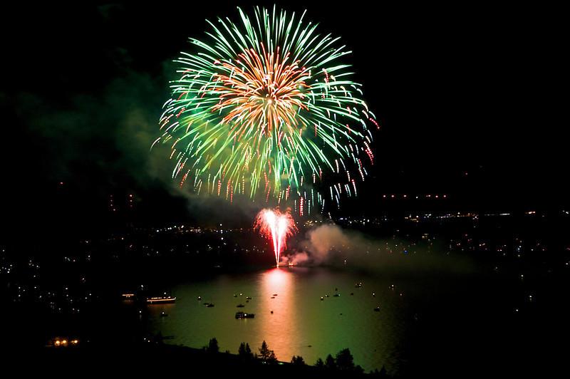Labor Day Fireworks, Lake Tahoe