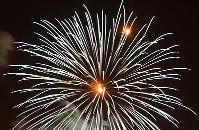 Fireworks 7. Photo: Martin Bager. Fireworks in Tivoli.  Photo: Martin Bager.