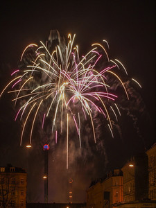 Fireworks 3. Photo: Martin Bager. Fireworks in Tivoli.  Photo: Martin Bager.