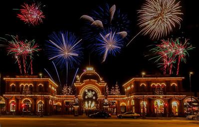 Fireworks 8. Photo: Martin Bager. Fireworks in Tivoli.  Photo: Martin Bager.