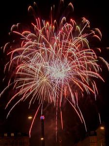 Fireworks 6. Photo: Martin Bager. Fireworks in Tivoli.  Photo: Martin Bager.