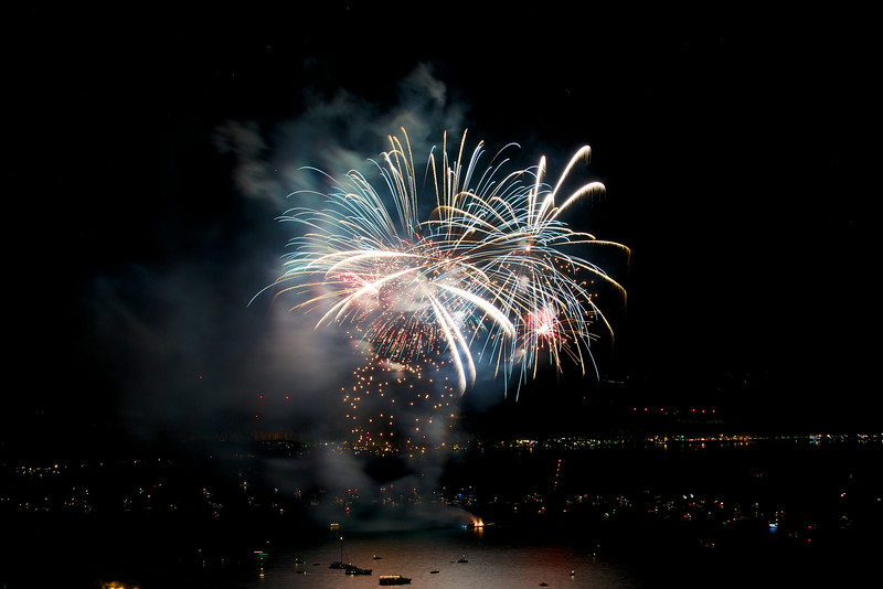 Fireworks, Labor Day 2014, South Shore Lake Tahoe