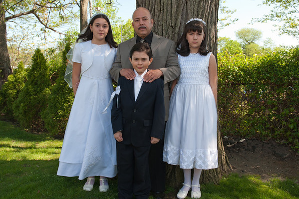 First Holy Communion for Stephanie, Kathy and Sebastian- 4.30.11