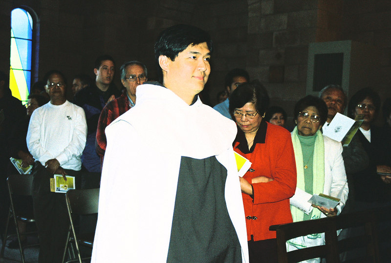 Br. Michael Syjueco of St.Therese of the Holy Face