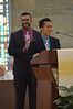 James and Juancho thank all those who have helped them in their preparation for vows