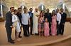 Fr. Steve with James' extended family