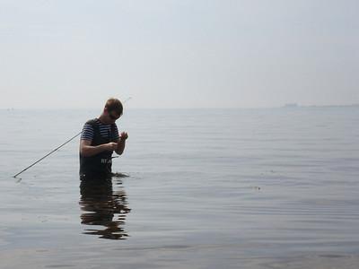 2012-05-26, Horngäddefiske vid Domsten
