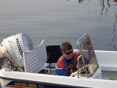 Fisketur vid Kullen