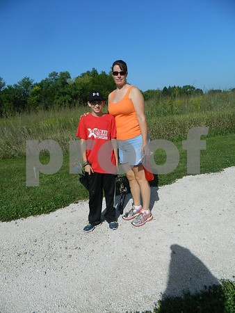 Tina Davis and her Son Kyle Davis