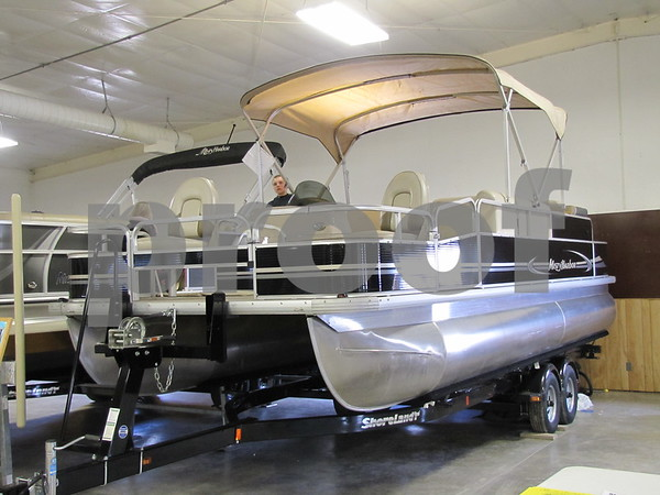 Pontoon from Twin Lakes Marina Sales & Service.