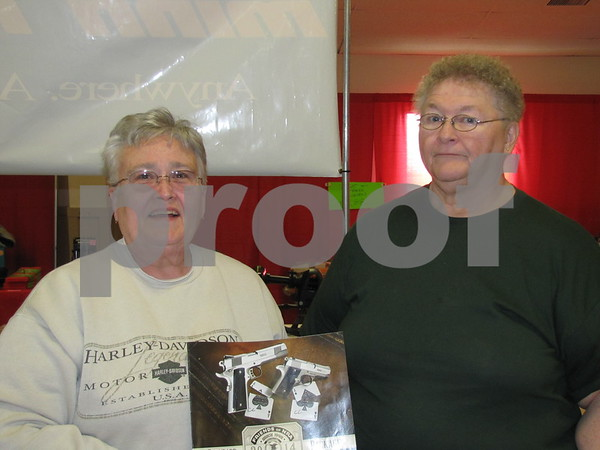 Janet Smith and Joice Hill were advertising the 14th Annual Koda Chapter Iowa Friends of NRA Banquet & Auction to be held Saturday, March 29, 2014.