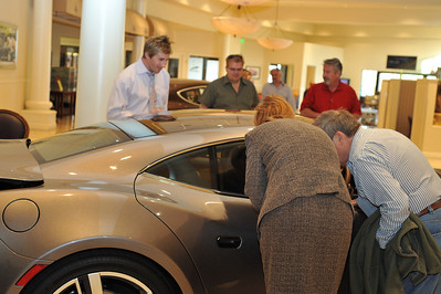 "First photo of Fisker Karma Electric Hybrid Tour Launch in USA first stop on tour at Gaudin Autos in Las Vegas. DSM Luxury is proud to present the opening tour launch of the world's first luxury hybrid car Frisker Karma made by Danish man Henrik Fisker in Irvine, California. Here is a video of Henrik Fisher talking about his electric hybrid Karma: http://www.youtube.com/watch?v=sLq2keRz9l0&feature=player_embedded ""Follow The Fun With DSM"" DSM Website - Sign up for more events - http://www.dsmlasvegas.com/ Photograph by Las Vegas photographer Mark Bowers. www.ReallyVegasPhoto.com"