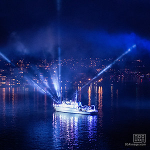 International Fleet Review Spectacular lightshow