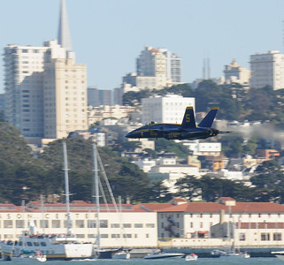 Blue Angels at Fleet Week 2008 in San Francisco