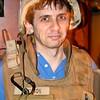 Matt in Military Garb
